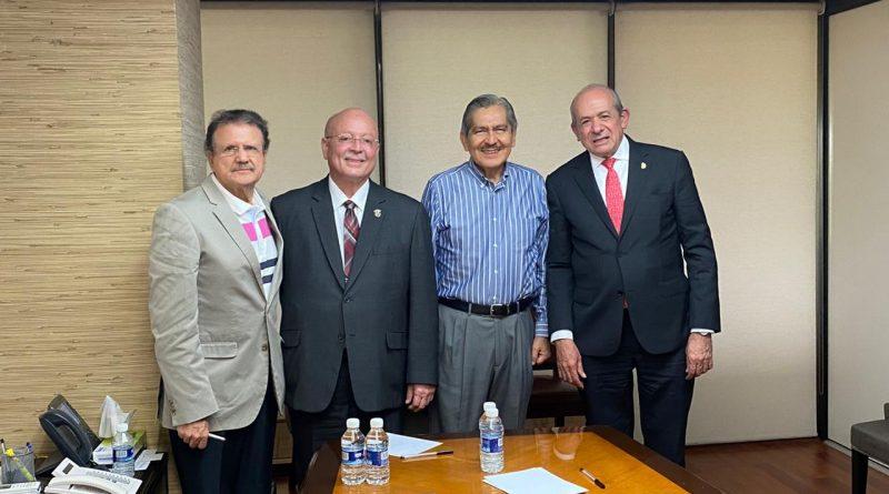 Acompaña Rector al Dr. Fernández Fassnacht en atención al conflicto del Tecnológico de Culiacán
