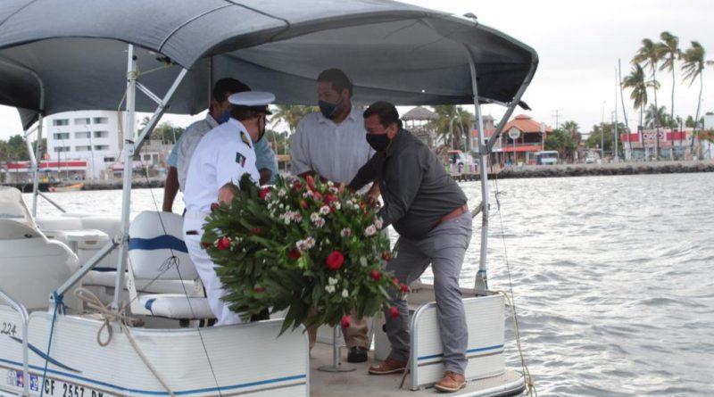 Sin aglomeración de personas, Navolato conmemora el Día de la Marina