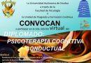 Invita Facultad de Psicología a cursar el Diplomado en Psicoterapia Cognitiva Conductual