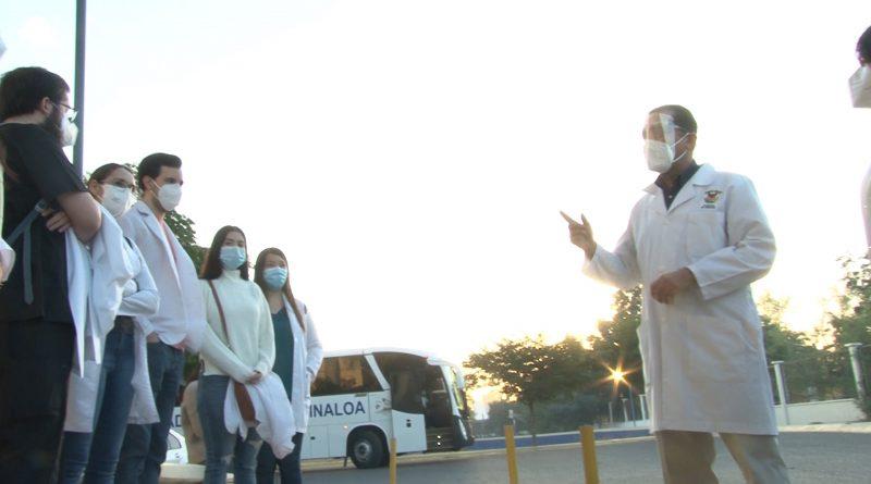 Brigadistas de la UAS apoyarán en vacunación en el municipio de Salvador Alvarado a partir de este jueves