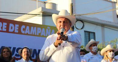 ¡Ya basta! del olvido en que está la zona rural; yo seré el Alcalde amigo de las sindicaturas: Faustino Hernández Álvarez