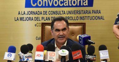 Abre la UAS participación en Jornada de Consulta Universitaria para la mejora del Plan de Desarrollo Institucional