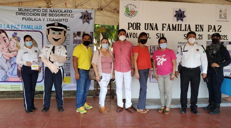 """Navolato inicia el programa """"Por una Familia en Paz"""""""