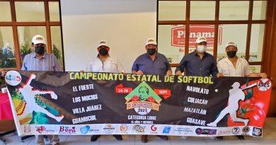 Este fin de semana se llevará a cabo el Campeonato Estatal de Softbol 25 y menores en Villa Juárez, Navolato.