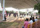 Quirino inaugura techumbre en unidad deportiva